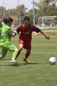 Jean Pierre Bello RSL-AZ U18 vs Seattle U18