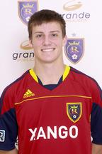 Danny Gavin - Forward for Real Salt Lake - Arizona soccer academy