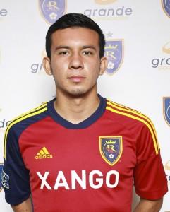 "Jose ""Coco"" Navarro - Forward for Grande Sports Academy soccer academy team, Real Salt Lake - Arizona"
