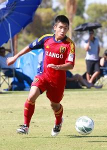 Jason Eng - RSL-AZ U16 soccer academy - Grande Sports Academy
