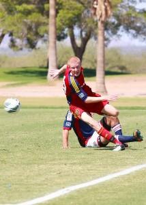 Justen Glad - RSL-AZ U16 soccer academy