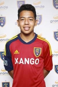 Grande Sports Academy's Sebastian Saucedo - Forward for Real Salt Lake - Arizona soccer academy