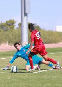 Sebastian Saucedo - RSL-AZ U16 - Hat Trick
