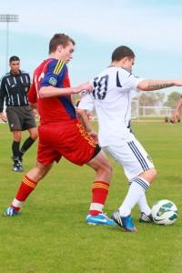 Corey Nemeth - Forward for RSL-AZ soccer academy