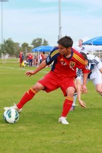 Jose Hernandez - Forward for RSL-AZ soccer academy