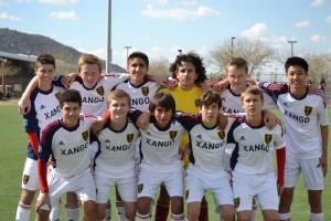 Grande Sports Academy - Real Salt Lake Elite U16 - 4