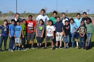 Grande Sports Academy Real Salt Lake - Community Service Boys & Girls Club - Kaleb Goodman, Brandon Sands, Jonathan Min, Duncan Storey, Josh Coan, Jason Eng