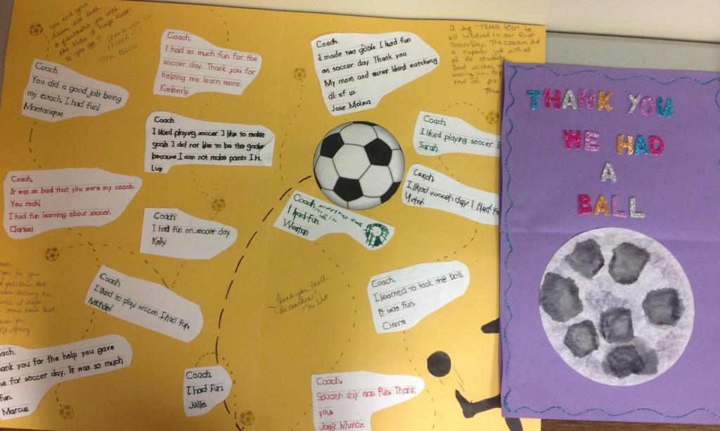Community Service - Soccer Clinic