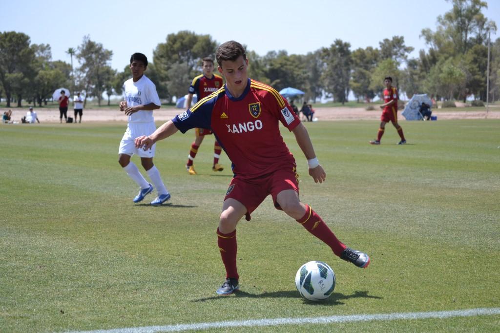 Grande Sports Academy - Real Salt Lake U16 vs Pateadores - Brooks Lennon