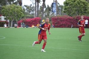 Grande Sports Academy - Real Salt Lake U18 vs LA Galaxy U18 - Ive Burnett