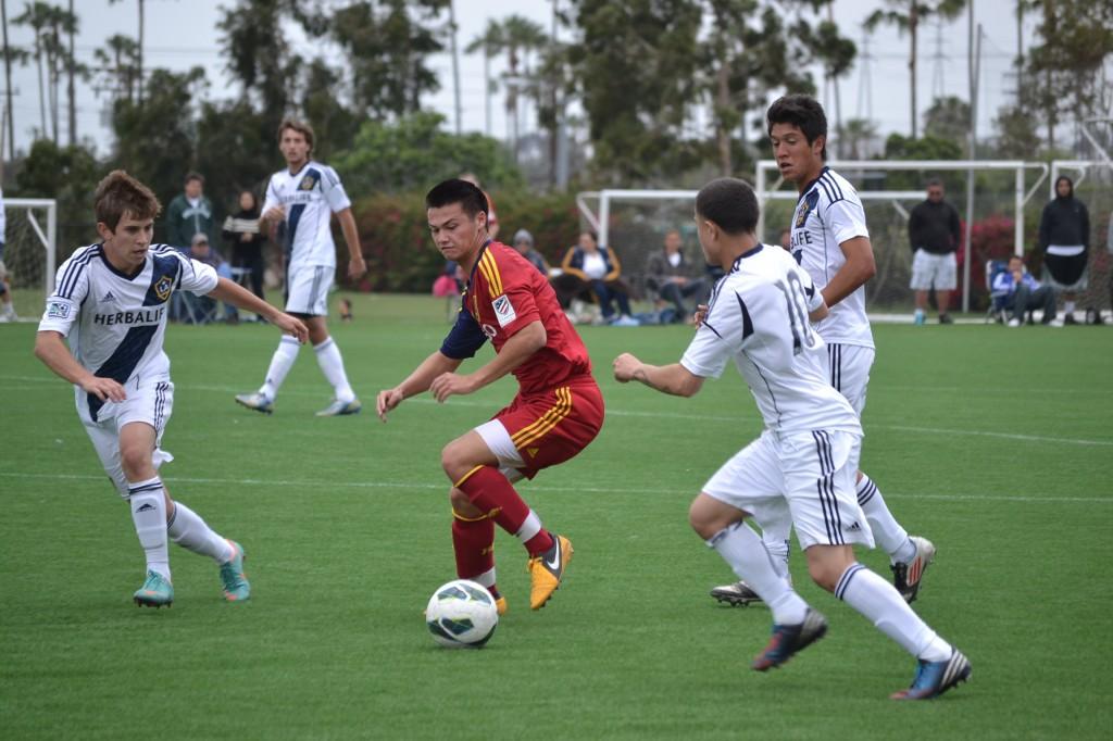 Grande Sports Academy - Real Salt Lake U18 vs LA Galaxy U18 - Trevor Hyman