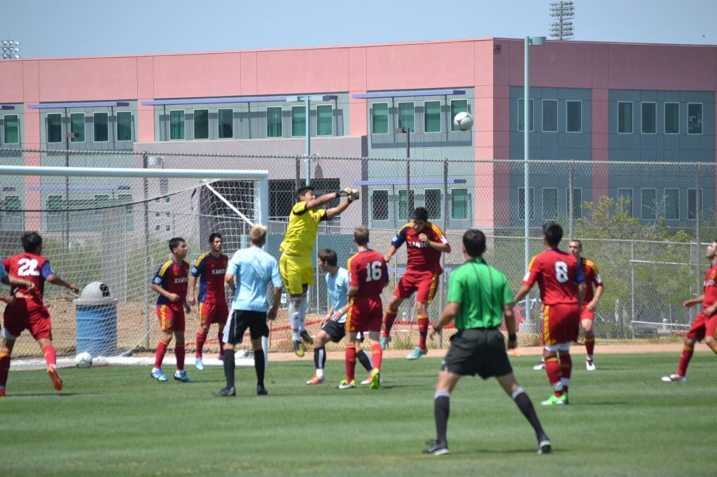 Grande Sports Academy - Real Salt Lake Arizona U18 Academy - Luis Barraza