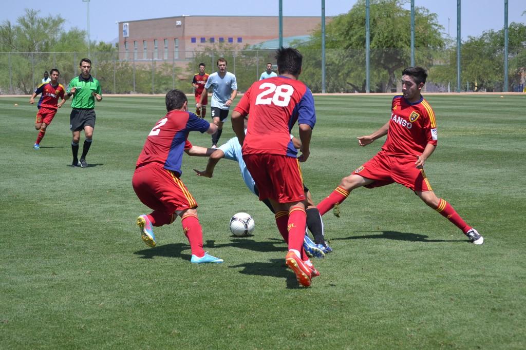 Grande Sports Academy - Real Salt Lake Arizona U18 Academy - Luis Chavez, Te Wihongi, Tigran Tiraturyan