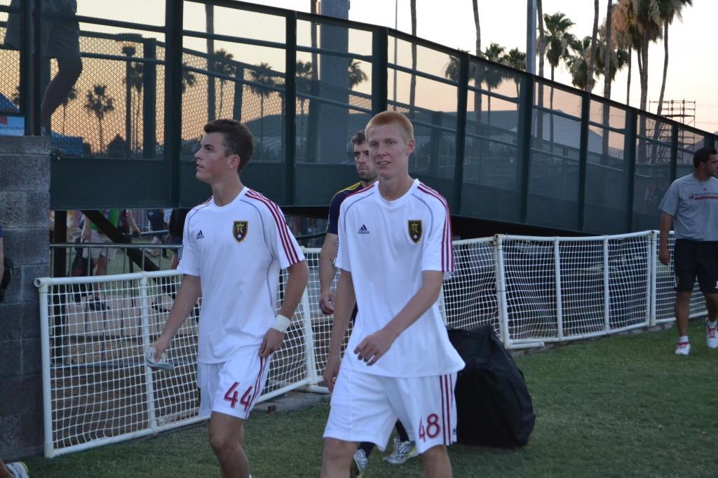 Grande Sports Academy - Real Salt Lake Reserves vs Phoenix FC - Justen Glad, Brooks Lennon
