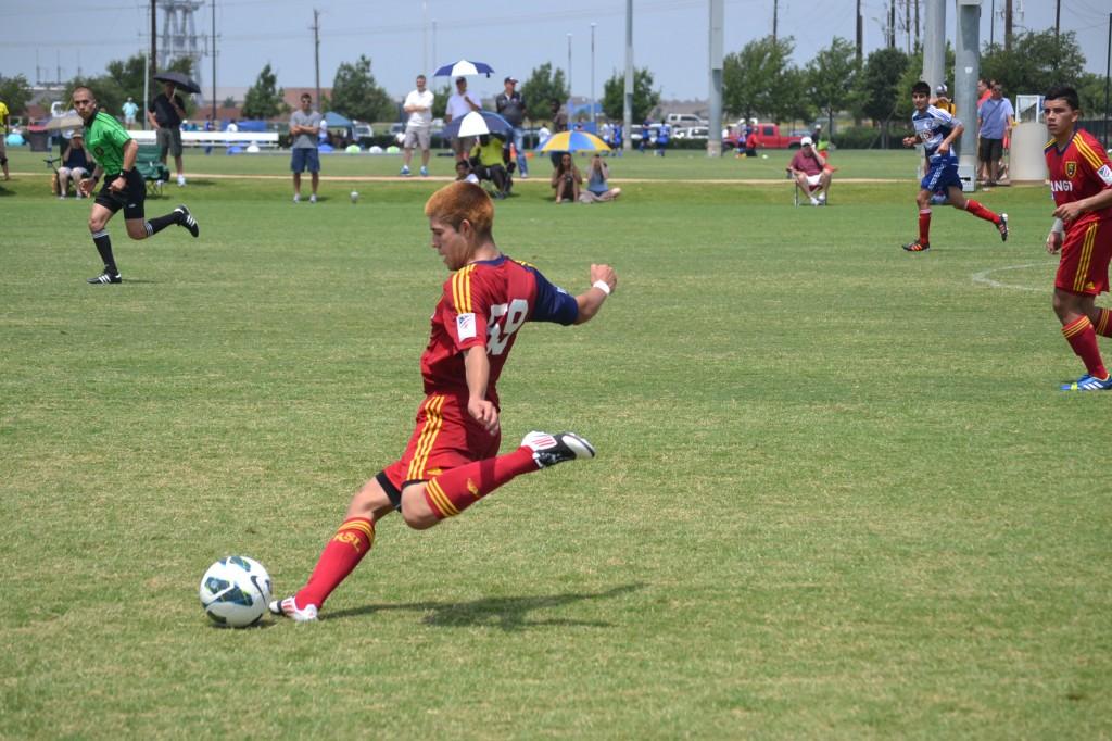 Grande Sports Academy - Real Salt Lake U16 vs FC  Dallas - Moises Rodriguez (2)