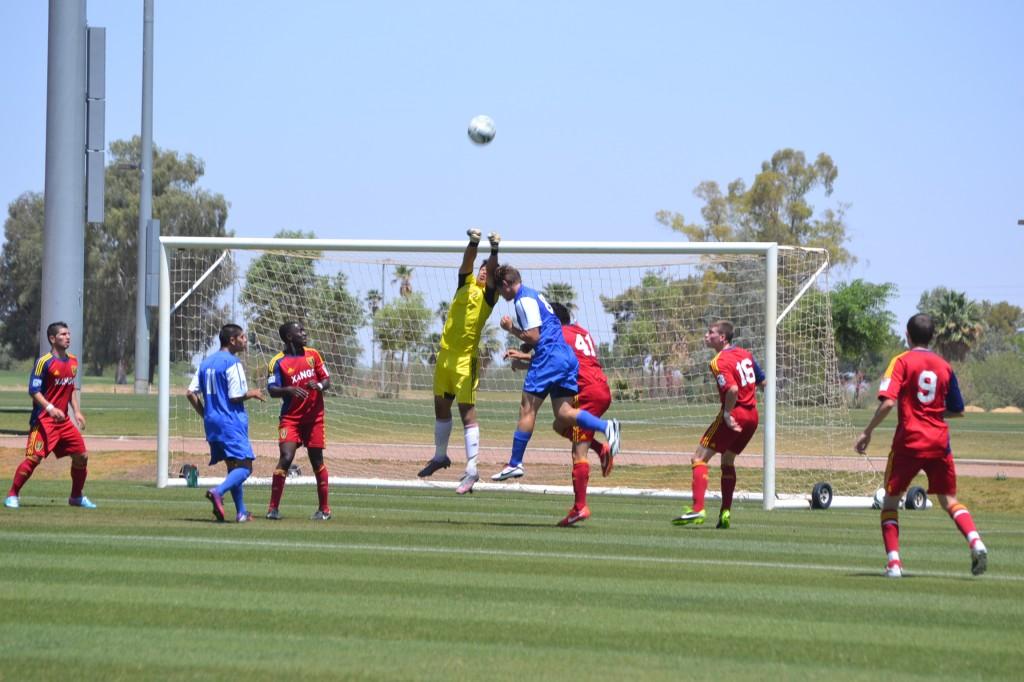 Grande Sports Academy - Real Salt Lake U18 Academy vs Arsenal - Luis Barraza
