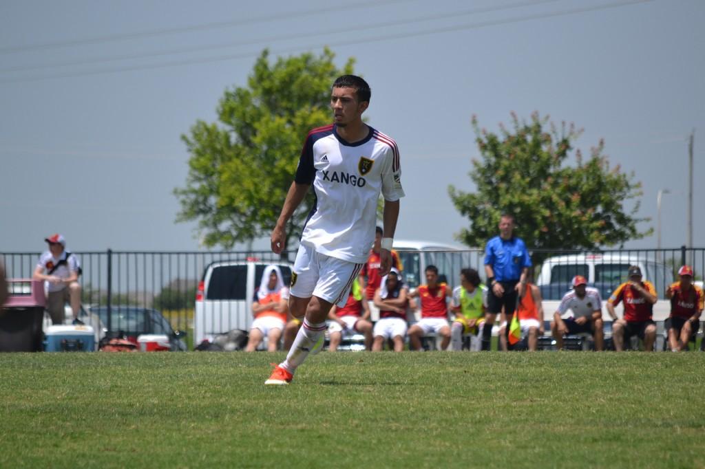 Grande Sports Academy - Real Salt Lake U18' vs DC United - Coco Navarro
