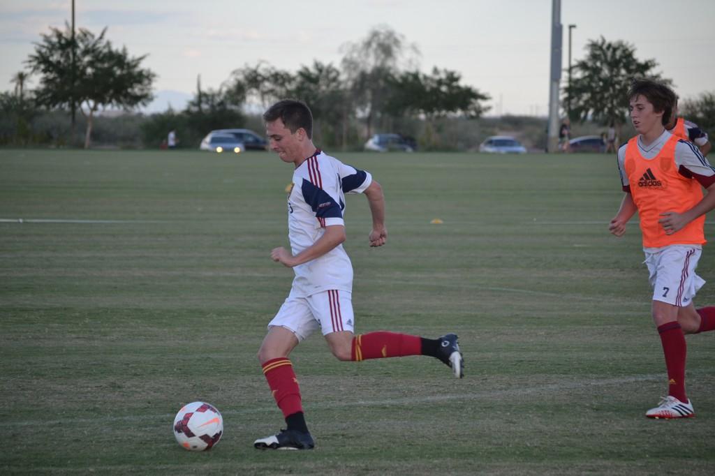 Grande Sports Academy - Real Salt Lake Academy - Corey Baird