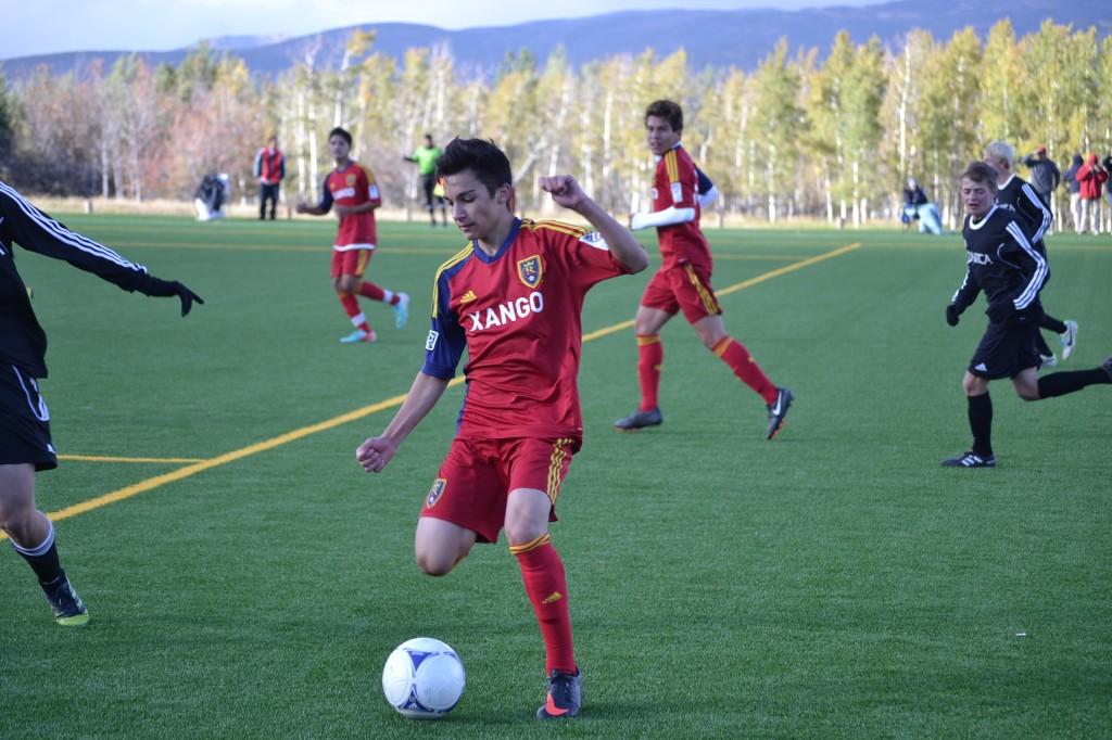 Grande Sports Academy - Real Salt Lake U-16 Elite Team - Robby Orona