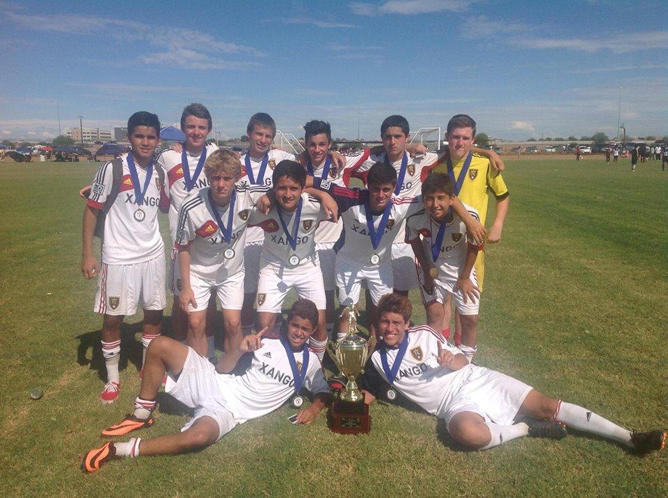 U-16 Tuzons Challenge Champions