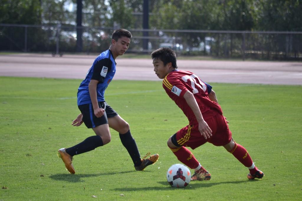 Grande Sports Academy - Real Salt Lake U-16 - Crossfire Premier - G.Cleverly - Paul Bin
