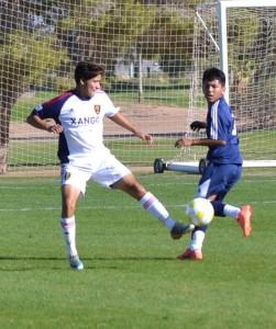 Grande Sports Academy - Real Salt Lake U-16 Elite - G.Cleverly - Alejandro Parra