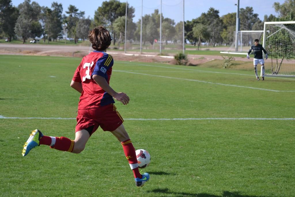 Real Salt Lake U-18 Academy - Grande Sports Academy - G.Cleverly - Aaron Herrera (4)