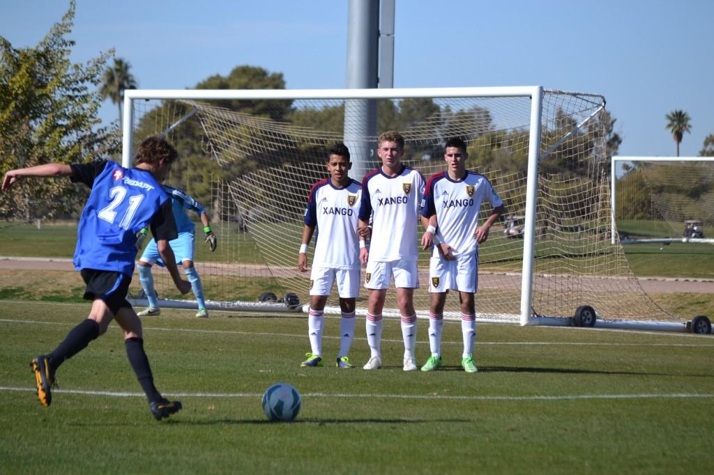 Grande Sports Academy - Real Salt Lake - Sebastian Saucedo, Evan Waldrep, Diego Silva