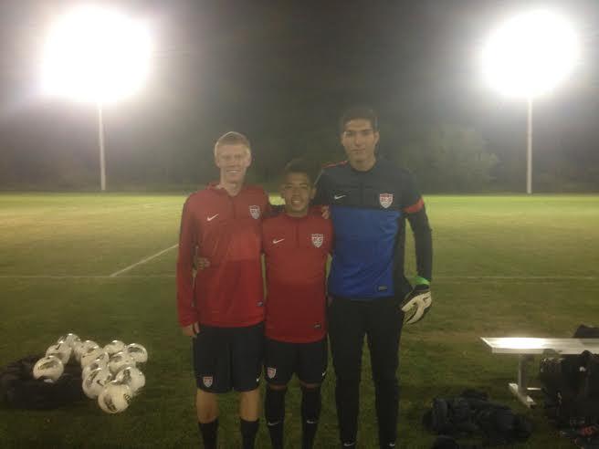 Justen Glad, Sebastian Saucedo, Christian Herrera