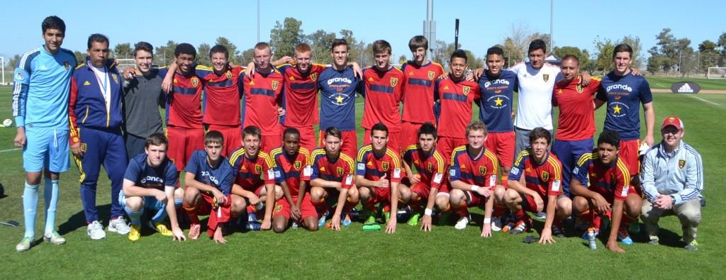 Grande Sports Academy - Real Salt Lake U-17 - Houston Dynamo U-17 -