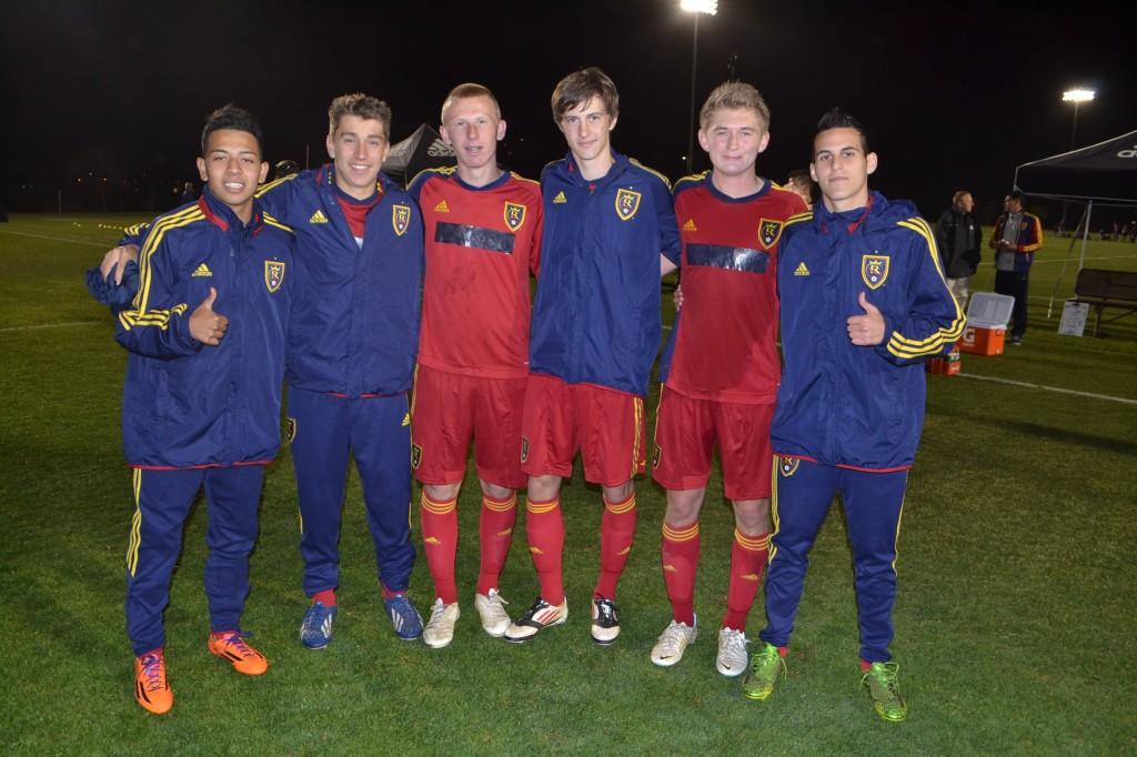 Real Salt Lake U-17 Academy vs. FC Dallas U-17 Academy - Generation Adidas Cup - Saucedo, Schmitt, Stray, Doughty, Waldrep, Silva