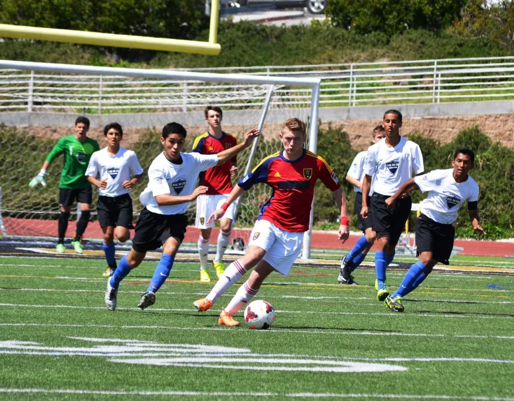 Grande Sports Academy - Real Salt Lake - Real So Cal -Evan Waldrep